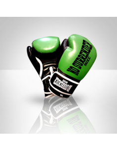 Guantoni No Surrender Boxe - Fight Generation. Colore verde e nero.